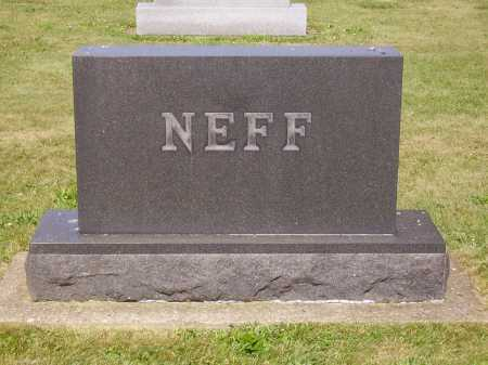 NEFF FAMILY, MONUMENT - Tuscarawas County, Ohio | MONUMENT NEFF FAMILY - Ohio Gravestone Photos