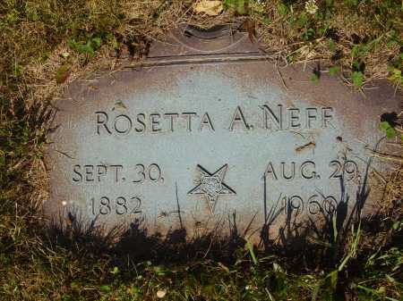 NEFF, ROSETTA A. - Tuscarawas County, Ohio | ROSETTA A. NEFF - Ohio Gravestone Photos