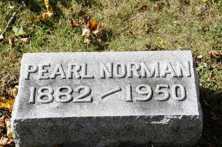 NORMAN, PEARL - Tuscarawas County, Ohio | PEARL NORMAN - Ohio Gravestone Photos