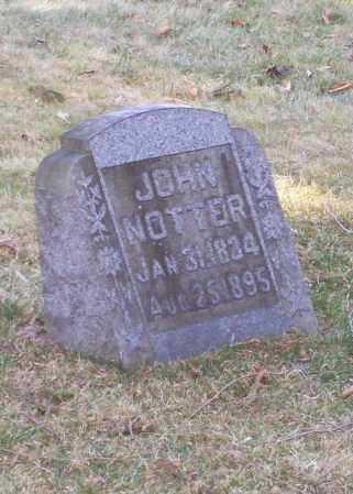 NOTTER, JOHN - Tuscarawas County, Ohio | JOHN NOTTER - Ohio Gravestone Photos