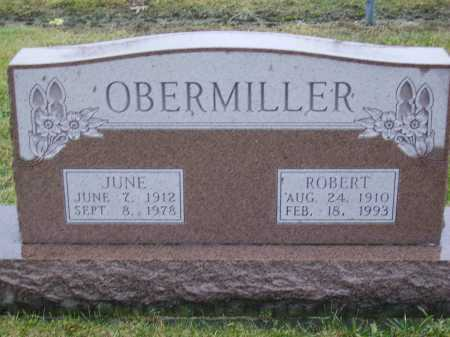 OBERMILLER, JUNE - Tuscarawas County, Ohio | JUNE OBERMILLER - Ohio Gravestone Photos