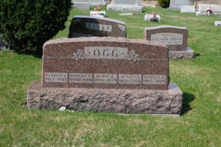 OGG, ERNEST FREDERICK - Tuscarawas County, Ohio | ERNEST FREDERICK OGG - Ohio Gravestone Photos