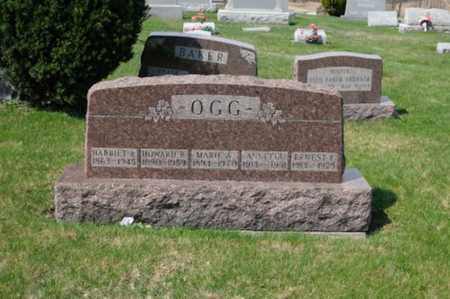 OGG, MARIE A. - Tuscarawas County, Ohio | MARIE A. OGG - Ohio Gravestone Photos