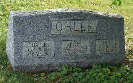 OHLER, PETER - Tuscarawas County, Ohio | PETER OHLER - Ohio Gravestone Photos
