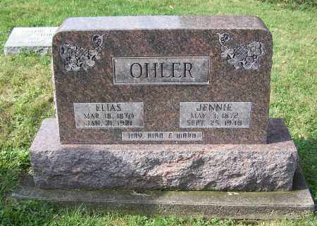 OHLER, JENNIE - Tuscarawas County, Ohio | JENNIE OHLER - Ohio Gravestone Photos