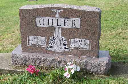 OHLER, HAZEL E. - Tuscarawas County, Ohio | HAZEL E. OHLER - Ohio Gravestone Photos
