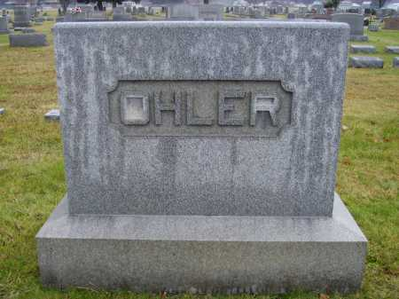 OHLER, MONUMENT - Tuscarawas County, Ohio | MONUMENT OHLER - Ohio Gravestone Photos