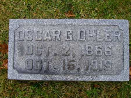 OHLER, OSCAR G. - Tuscarawas County, Ohio | OSCAR G. OHLER - Ohio Gravestone Photos