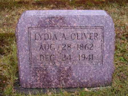 OLIVER, LYDIA A. - Tuscarawas County, Ohio | LYDIA A. OLIVER - Ohio Gravestone Photos