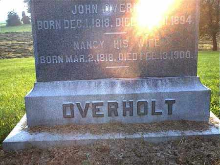 OVERHOLT, NANCY - Tuscarawas County, Ohio | NANCY OVERHOLT - Ohio Gravestone Photos