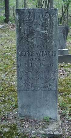 PARKS, MARY - Tuscarawas County, Ohio | MARY PARKS - Ohio Gravestone Photos