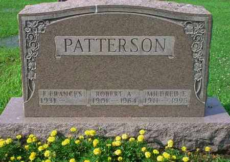 PATTERSON PATTERSON, E. FRANCES - Tuscarawas County, Ohio | E. FRANCES PATTERSON PATTERSON - Ohio Gravestone Photos