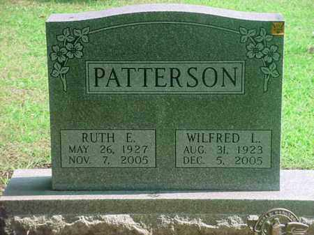 PATTERSON, WILFRED L - Tuscarawas County, Ohio | WILFRED L PATTERSON - Ohio Gravestone Photos