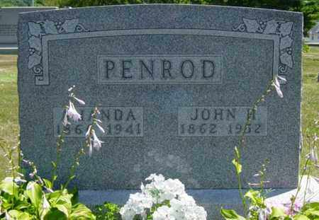 JEANDREWIN PENROD, AMANDA - Tuscarawas County, Ohio | AMANDA JEANDREWIN PENROD - Ohio Gravestone Photos