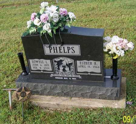 PHELPS, ESTHER R. - Tuscarawas County, Ohio | ESTHER R. PHELPS - Ohio Gravestone Photos