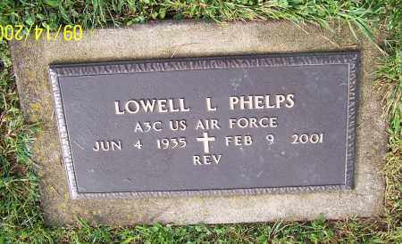 PHELPS, LOWELL L.  (MIL) - Tuscarawas County, Ohio | LOWELL L.  (MIL) PHELPS - Ohio Gravestone Photos