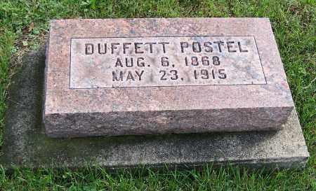 POSTEL, DUFFETT - Tuscarawas County, Ohio | DUFFETT POSTEL - Ohio Gravestone Photos