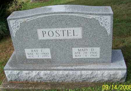 POSTEL, MARY D. - Tuscarawas County, Ohio | MARY D. POSTEL - Ohio Gravestone Photos
