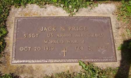 PRICE, JACK N - Tuscarawas County, Ohio | JACK N PRICE - Ohio Gravestone Photos