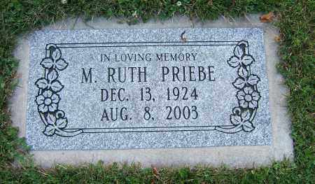 PRIEBE, M RUTH - Tuscarawas County, Ohio | M RUTH PRIEBE - Ohio Gravestone Photos