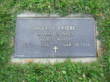 PRIEVE, ALEX J - Tuscarawas County, Ohio | ALEX J PRIEVE - Ohio Gravestone Photos