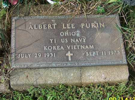 PURIN, ALBERT LEE - Tuscarawas County, Ohio | ALBERT LEE PURIN - Ohio Gravestone Photos