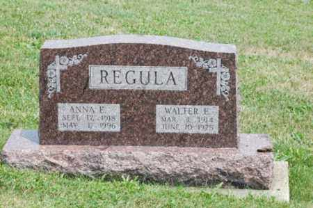 REGULA, ANNA E. - Tuscarawas County, Ohio | ANNA E. REGULA - Ohio Gravestone Photos