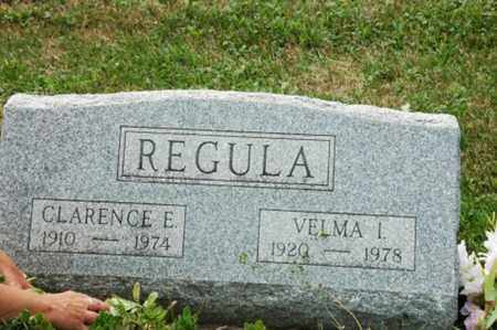 REGULA, VELMA I. - Tuscarawas County, Ohio | VELMA I. REGULA - Ohio Gravestone Photos