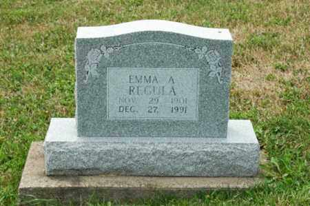 REGULA, EMMA A. - Tuscarawas County, Ohio | EMMA A. REGULA - Ohio Gravestone Photos