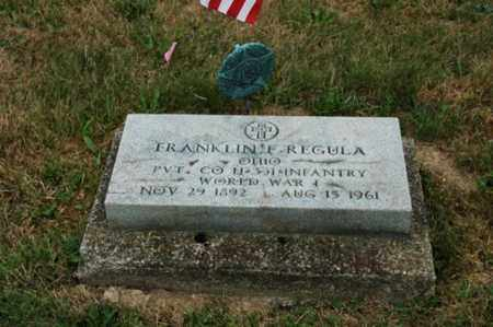 REGULA, FRANKLIN F. - Tuscarawas County, Ohio | FRANKLIN F. REGULA - Ohio Gravestone Photos