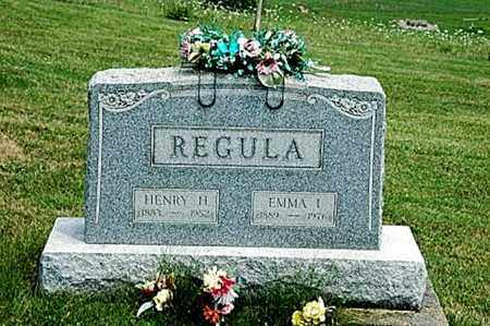 REGULA, HENRY H. - Tuscarawas County, Ohio | HENRY H. REGULA - Ohio Gravestone Photos