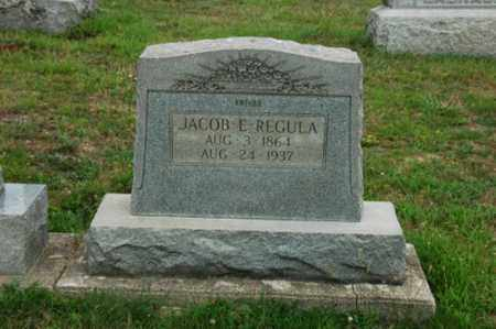 REGULA, JACOB E. - Tuscarawas County, Ohio | JACOB E. REGULA - Ohio Gravestone Photos