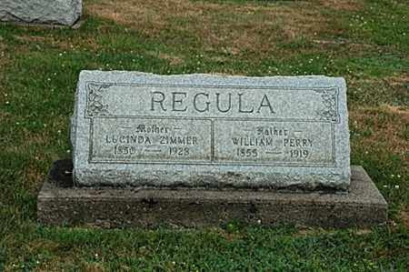 REGULA, WILLIAM PERRY - Tuscarawas County, Ohio | WILLIAM PERRY REGULA - Ohio Gravestone Photos