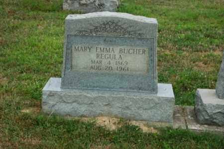 REGULA, MARY EMMA - Tuscarawas County, Ohio | MARY EMMA REGULA - Ohio Gravestone Photos