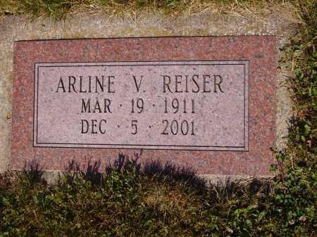 HAWKINS REISER, ARLINE V. - Tuscarawas County, Ohio | ARLINE V. HAWKINS REISER - Ohio Gravestone Photos