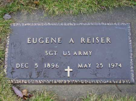 REISER, EUGENE A. - MILITARY - Tuscarawas County, Ohio | EUGENE A. - MILITARY REISER - Ohio Gravestone Photos
