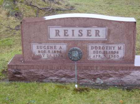 REISER, EUGENE A. - Tuscarawas County, Ohio | EUGENE A. REISER - Ohio Gravestone Photos