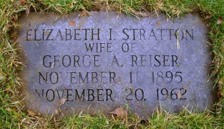 STRATTON REISER, ELIZABETH - Tuscarawas County, Ohio | ELIZABETH STRATTON REISER - Ohio Gravestone Photos