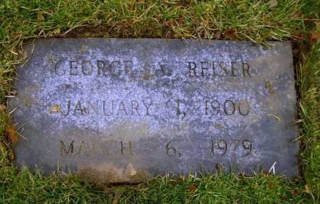 REISER, GEORGE ARTHUR - Tuscarawas County, Ohio | GEORGE ARTHUR REISER - Ohio Gravestone Photos