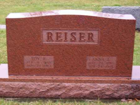 REISER, ROY R. - Tuscarawas County, Ohio | ROY R. REISER - Ohio Gravestone Photos