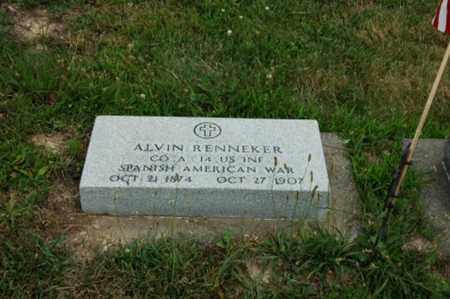 RENNEKER, ALVIN - Tuscarawas County, Ohio | ALVIN RENNEKER - Ohio Gravestone Photos