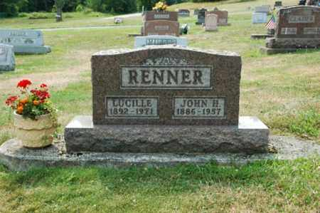 RENNER, ALICE LUCILLE - Tuscarawas County, Ohio | ALICE LUCILLE RENNER - Ohio Gravestone Photos