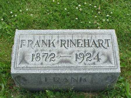 RINEHART, FRANK C. - Tuscarawas County, Ohio | FRANK C. RINEHART - Ohio Gravestone Photos