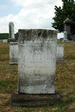 RINEHART, JOHN - Tuscarawas County, Ohio   JOHN RINEHART - Ohio Gravestone Photos