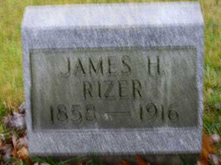 RIZER, JAMES H. - Tuscarawas County, Ohio | JAMES H. RIZER - Ohio Gravestone Photos