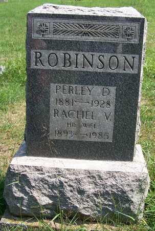 ROBINSON, PERLEY D. - Tuscarawas County, Ohio | PERLEY D. ROBINSON - Ohio Gravestone Photos