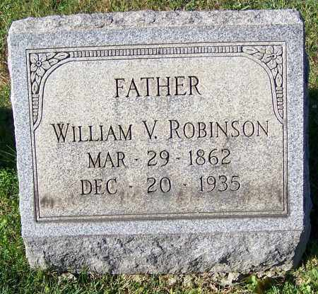 ROBINSON, WILLIAM V. - Tuscarawas County, Ohio | WILLIAM V. ROBINSON - Ohio Gravestone Photos