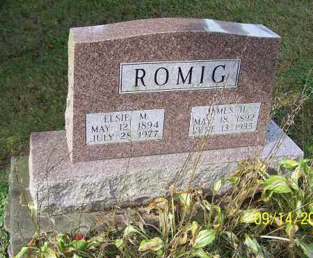 ROMIG, ELSIE M. - Tuscarawas County, Ohio | ELSIE M. ROMIG - Ohio Gravestone Photos