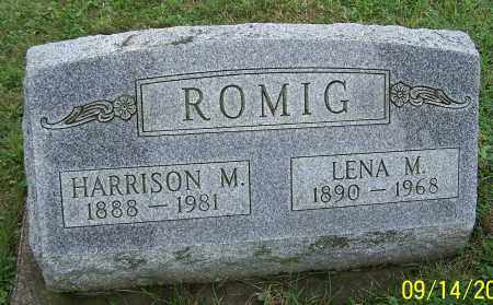 ROMIG, LENA M. - Tuscarawas County, Ohio | LENA M. ROMIG - Ohio Gravestone Photos