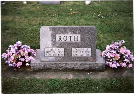 ROTH, LELIA ANNA - Tuscarawas County, Ohio | LELIA ANNA ROTH - Ohio Gravestone Photos